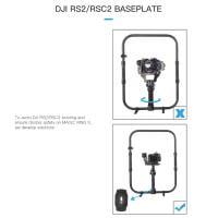digitalfoto Ring Grip für DJI Ronin-S/SC/RS2/RSC2