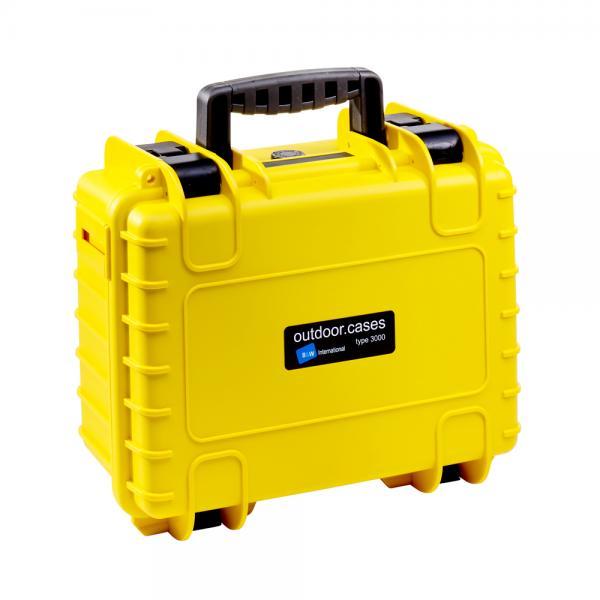 B&W Outdoor Case 3000 yellow