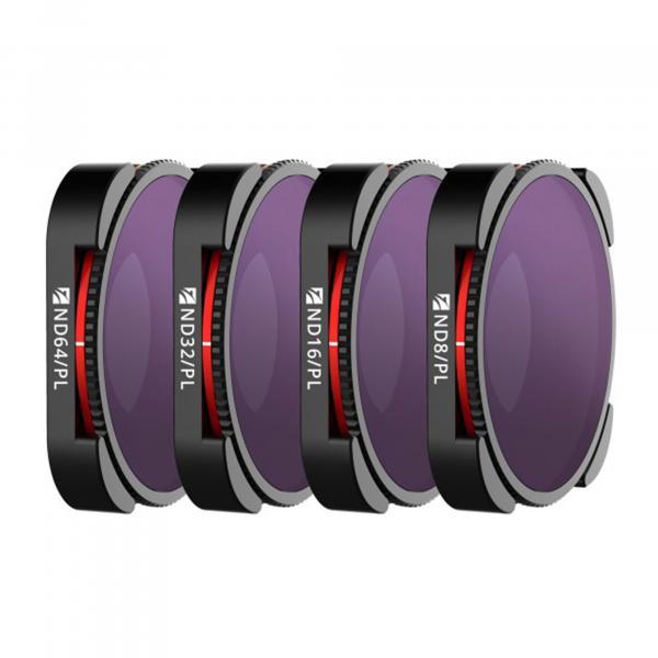 Freewell Gear Bright Day 4Pack Filter für HERO9 & 10 Black