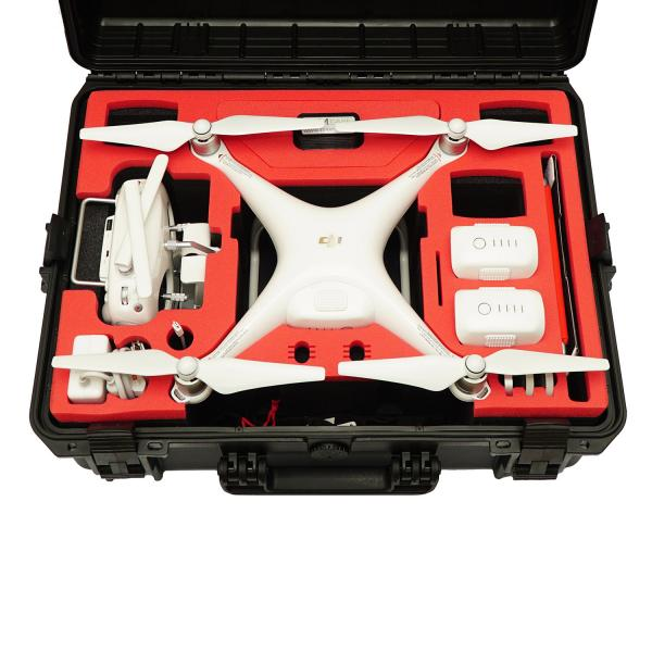 TOMcase Copter Case für DJI Phantom 4 & Pro/Pro Plus