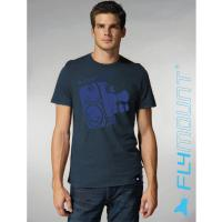 Flymount T-Shirt Camera navy