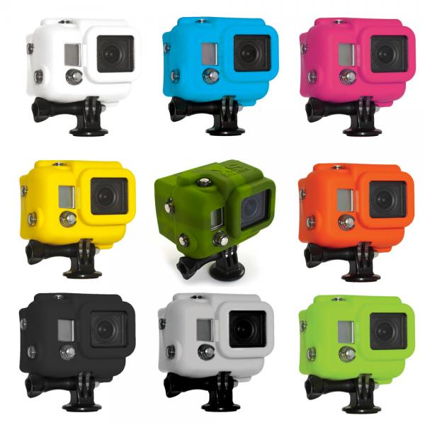 xsories Hooded Silicon Cover für GoPro
