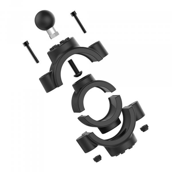 RAM Mounts Torque Rohrschelle für 38,1 - 50,8 mm Durchmesser, B-Kugel (1 Zoll) RAM-B-415-15-2U