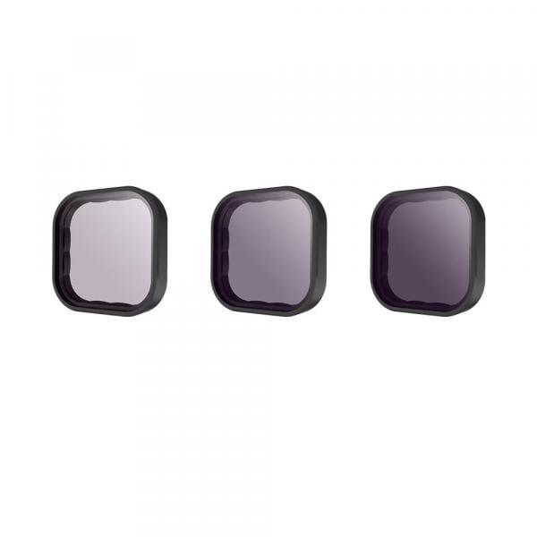 Telesin 3er ND-Filter Set für HERO9 & 10 Black