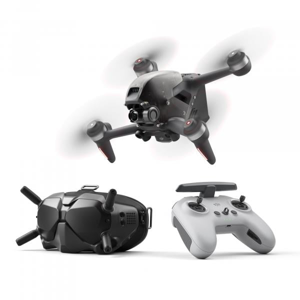 DJI FPV Combo Fly More B&W Motion Controller Bundle