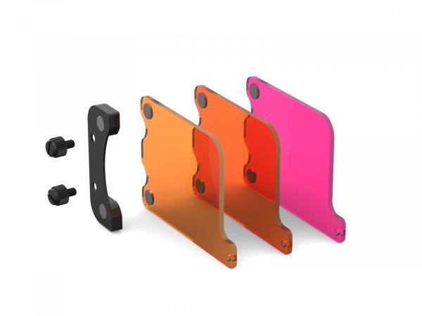 T-HOUSING Magnetisches Tauchfilterset für HERO5-7