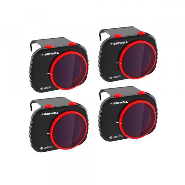 Freewell Gear Grad 4-Filter Pack Bright Day für DJI Mavic Mini REFURBISHED
