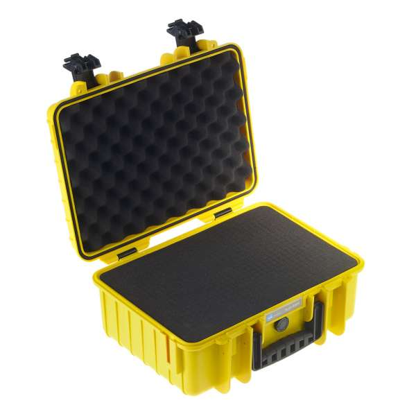 B&W Outdoor Case 4000 yellow