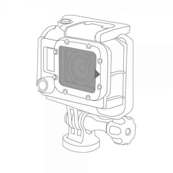 Gapder Lens Protector für GoPro Dive Housing