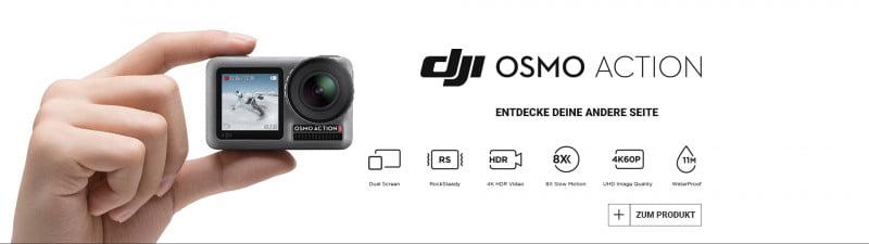 DJI OSMO Action zum Aktionspreis