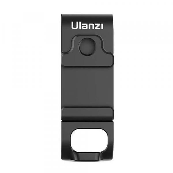 Ulanzi G9-6 Akkufachdeckel mit 1/4-Zoll- und Blitzschuhaufnahme für HERO9 & 10 Black