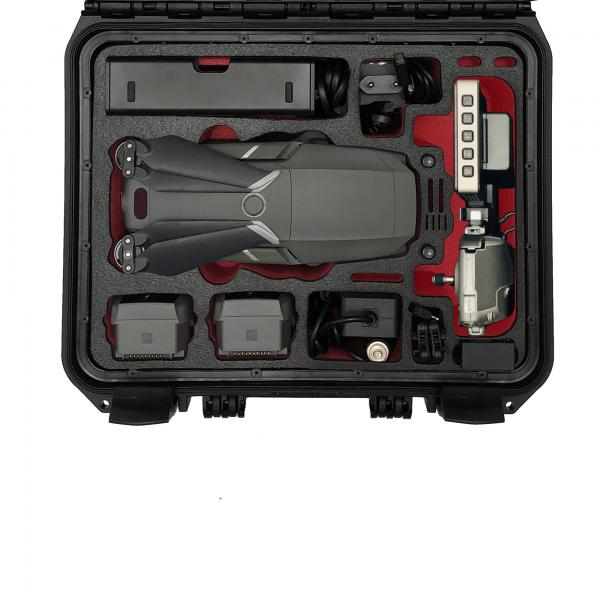 Tomcase DJI Mavic 2 travel case v2 xt300 Smart Controller Orange