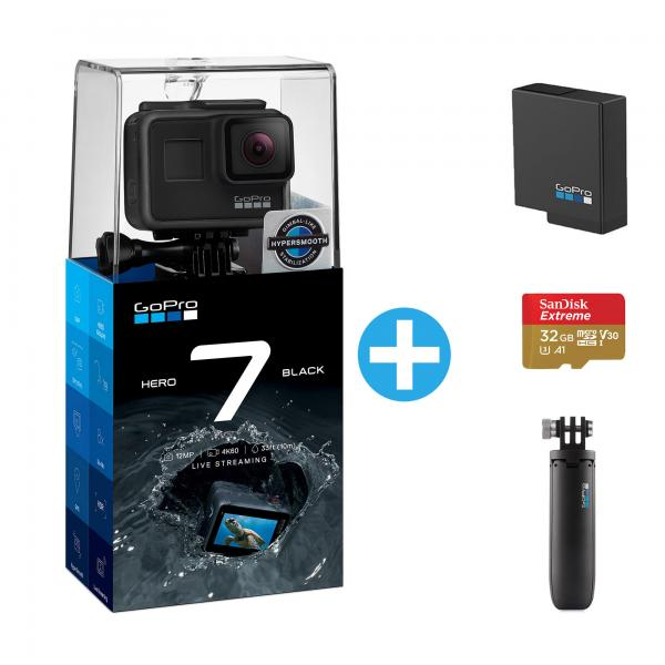GoPro HERO7 Black Holiday Bundle