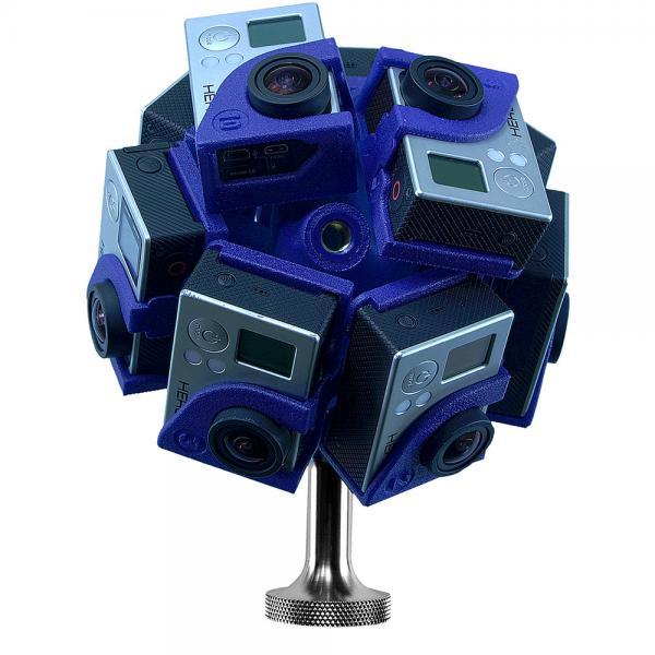360RIZE Pro10HD Mount für 360 Grad Filme