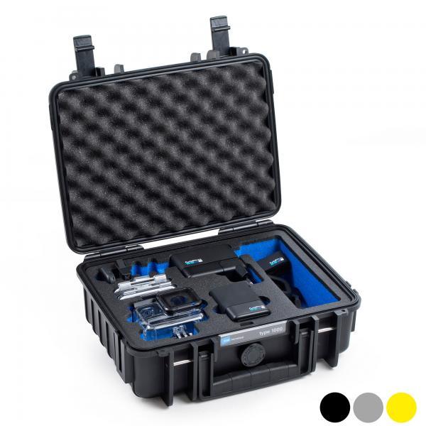 B/&w Hero 8 Black case 1000 Black