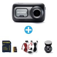 NEXTBASE Dashcam 522GW + 32GB + Hardwire Kit + Rückmodul