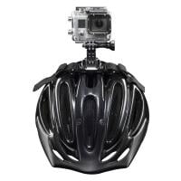 mantona Helmgurt für Fahrradhelm für Actionkameras