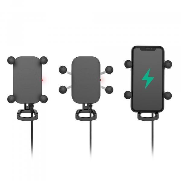 RAM Mounts Tough-Charge X-Grip Halteklammer für Smartphones mit Ladefunktion RAM-HOL-UN12WB