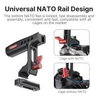 Ulanzi R084 Mini Metal Top Handle NATO