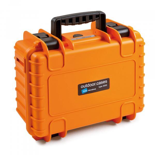 B&W Outdoor Case 3000 orange