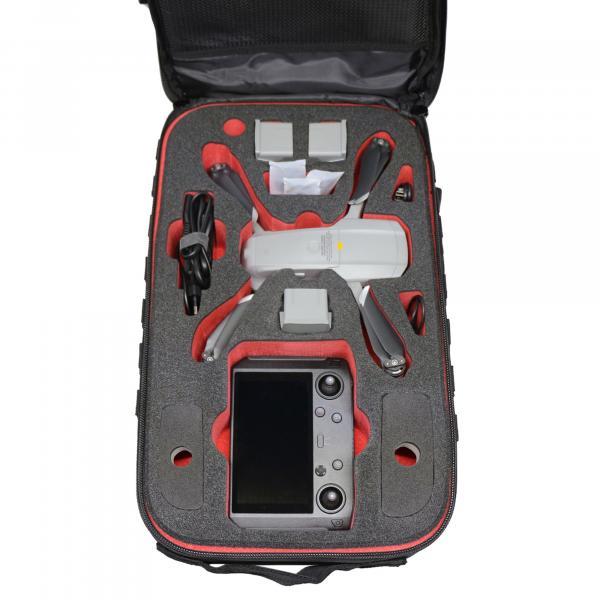 TOMcase RTF-Rucksack schwarz Inlay schwarz/rot für Mavic Air 2 & Air 2S
