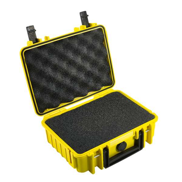 B&W Outdoor Case 1000 yellow
