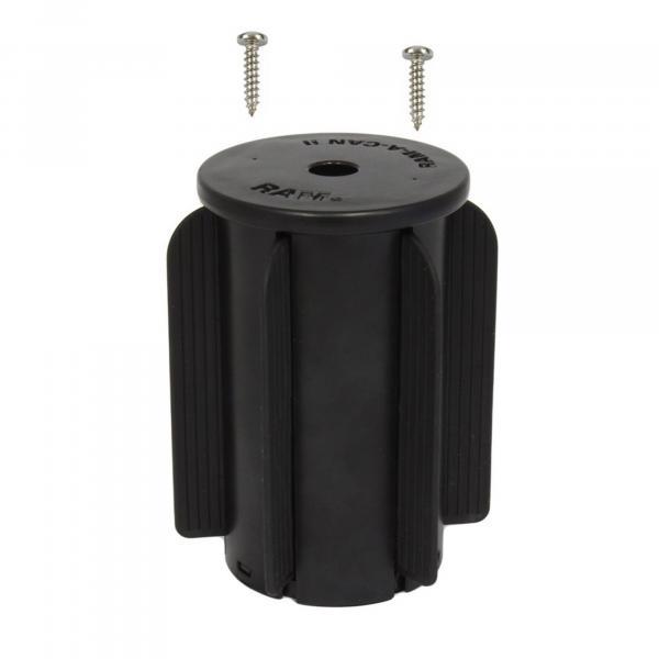 RAM Mounts RAM-A-CAN II Basis für Fahrzeug-Getränkehalter mit Gummilippen RAP-299-3U