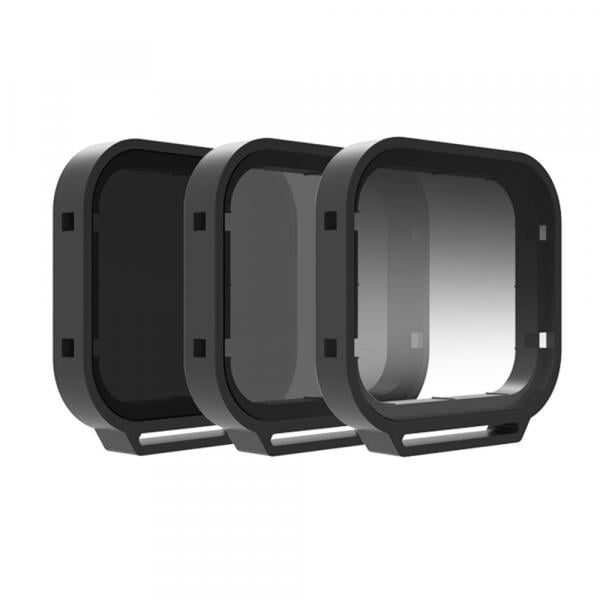 PolarPro Venture Filter 3-Pack für HERO5-7 Black