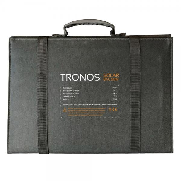 B&W 50 Watt Solarzelle by TRONOS