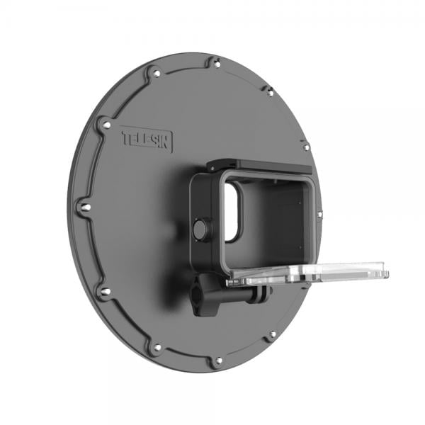 Telesin Dome-Port für HERO8 Black