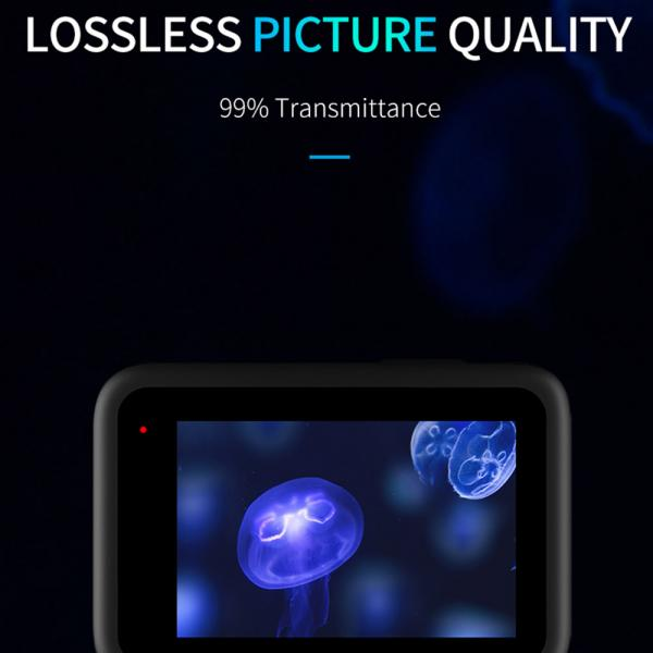 Telesin Tempered Glass Film für HERO9 & 10 Black