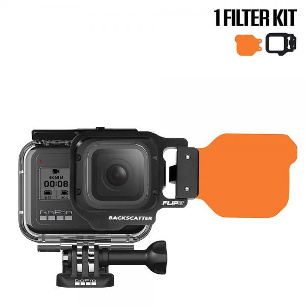 Backscatter FLIP8/9 1-Filter Kit für HERO5-9 Black