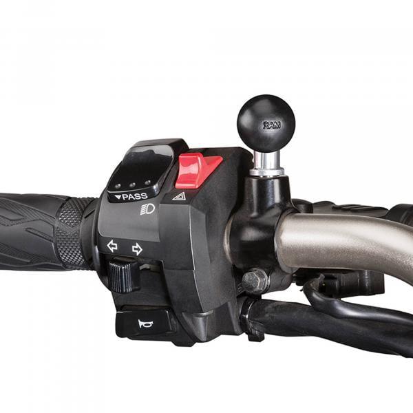 RAM Mounts Basis-Kugel mit M10-1,25 Zoll Gewindestift - B-Kugel RAM-B-349U