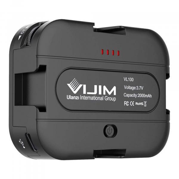 VIJIM by Ulanzi VL100C Pocket LED Video Light