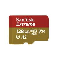SanDisk 128GB microSDXC Extreme C30 V30 A2 160MB/s