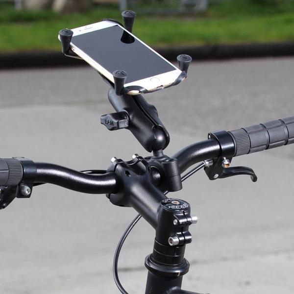 RAM Mounts X-Grip Motorrad-Halterung für große Smartphones RAM-B-408-75-1-UN10U