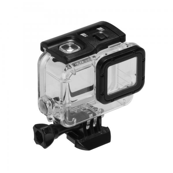 GoPole DIVE/IMPACT Housing Tauchgehäuse für HERO5-7 Black