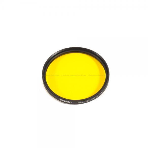 Backscatter Fluorescence Yellow Barrier Filter 55mm