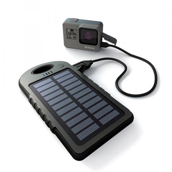 GoPole Dual Charge Solar Power Bank REFURBISHED