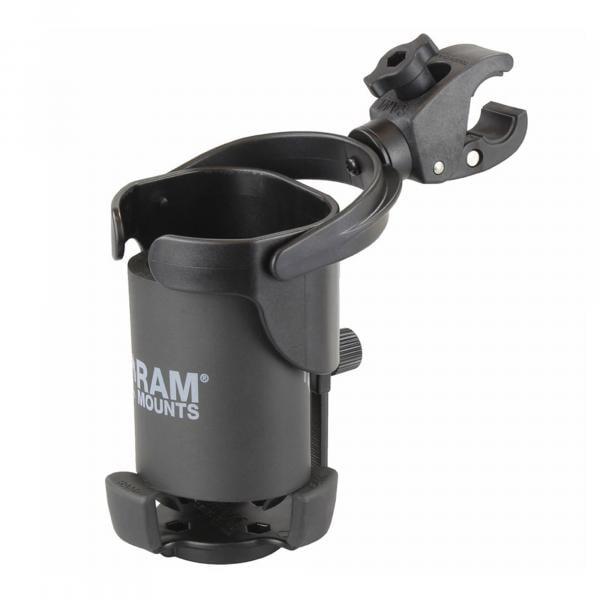 RAM Mounts Tough-Claw Getränkehalterung XL - B-Kugel (1 Zoll) RAP-B-417-400U