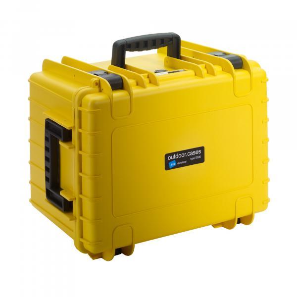 B&W Outdoor Case 5500 yellow