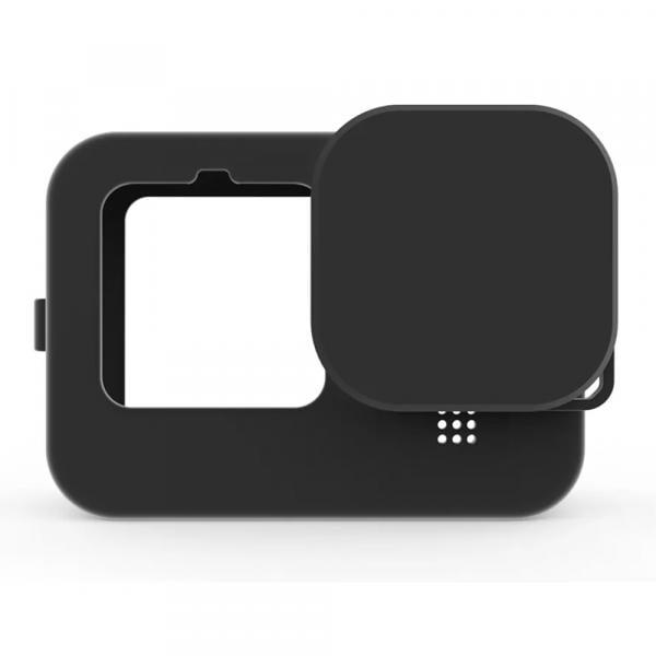 Telesin Protective Silicone Case Black für HERO9 & 10 Black