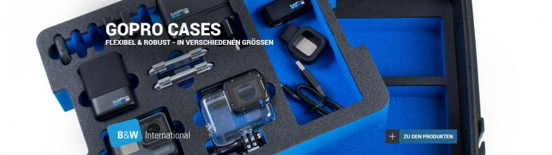 B&W GoPro Cases